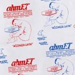 ahmET Ari Alpert - yağlı kasap kağıdın üstüne serigrafi baskı - 2017