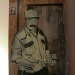 ari alpert -çayçi -woodtable Stencil 2014