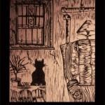 B1 Woodcut - 1996