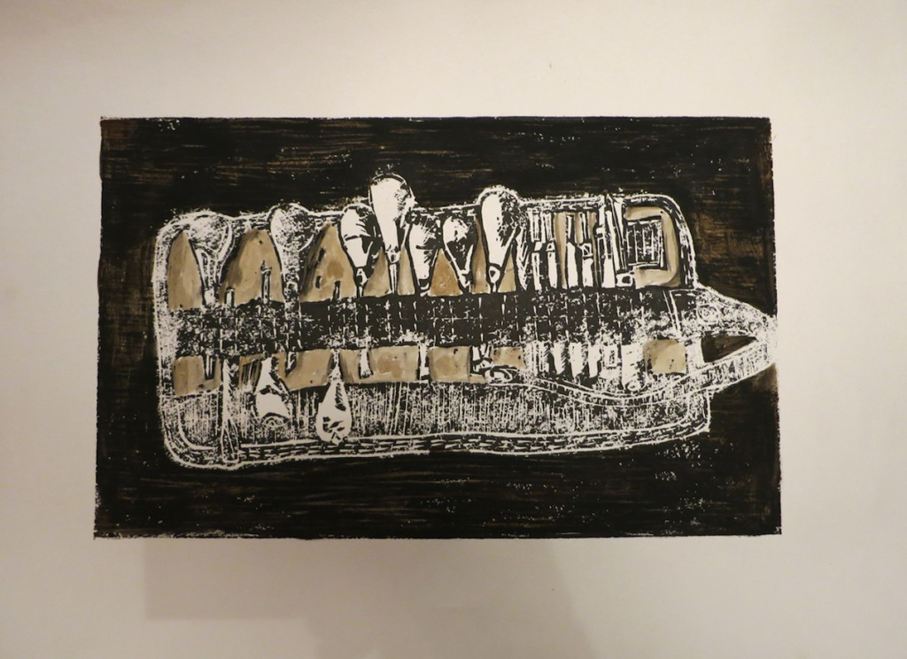tools of the trade woodcut ari alpert